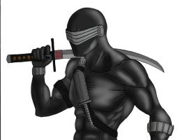 Snake Eyes Color by Spideyfan3714
