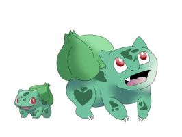 Bulbasaur (not so bad) by Lady-ALTernate