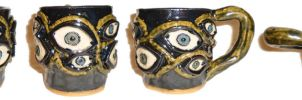 Eye Cup 1 by aberrantceramics