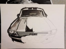 Gone in 60 seconds MUSTANG WIP 2 by Jaki33