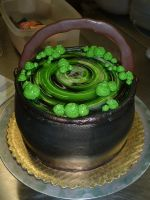 Cauldron Cake by Kahlan4