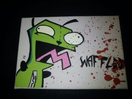 Invader Zim Gir by SUREGRAFFITI