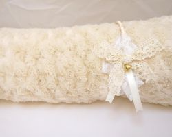 Laced Creme Anime inspired Cute Headband by EleanorAnsell