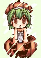 Pumpkin Chibi COLOURED :D by Kouken
