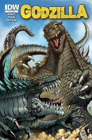 Godzilla Rulers of Earth issue 2 by KaijuSamurai