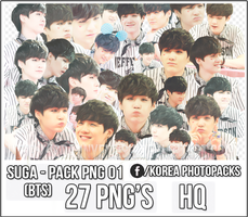 Suga (BTS) - PACK PNG #01 by JeffvinyTwilight