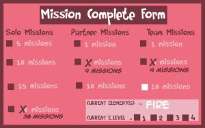 Mission complete form by yinyangswings
