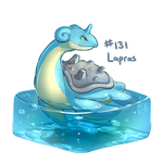 131 - Lapras by Electrical-Socket