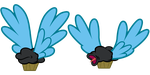Flying Muffins Vectors #1 by GreenMachine987