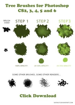 Tree Brushes   Tutorial And Downloadable Brush by Deadlytwins