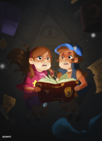 Mysterious Gravity Falls by vanipy05