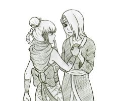 Point CM - Deidara X Hanagetsu by bittersweet-Grace