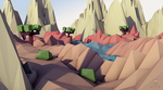 Low Poly Landscape by Virtual-Fox
