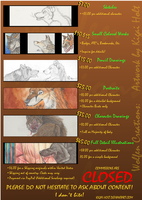 Commission Price List by Kigai-Holt