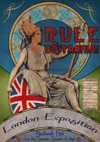 London Exposition Poster by LordRoem