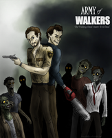 Army of Walkers - Walking Dead-Evil Dead crossover by Bane-Shadows