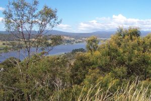 River view from lookout by slayer20