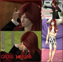 DGM Sim 6: Cross Marian by ShinigamiDanna