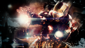 Iron Man by razieldbz