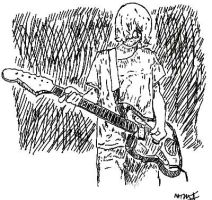 Kurt Cobain2 by matthewmoss