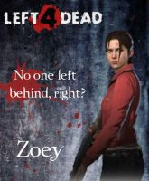 Left 4 Dead-Zoey by Isobel-Theroux