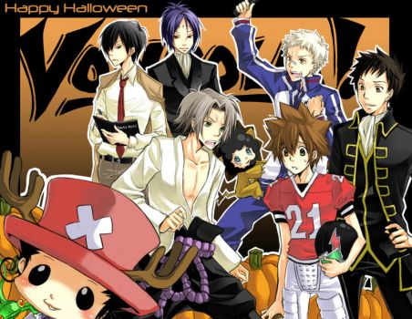 Reborn - Happy Halloween 2007 by kanae