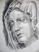 Michelangelo's Madonna by chrisravensar