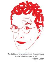 Stephen Colbert Letter Face by sarahb86