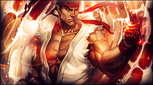 Ryu Smudge by XxbryanxX96