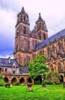 Magdeburg Cathedral 1 by MT-Photografien