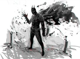 Batman by Deviangread