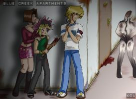 Yu-gi-oh meets Silent Hill by Kitty-Cat-Angel