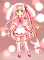Moe Moe Bunny by NummyCandy