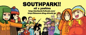 SOUTHPARK by spidergarden666