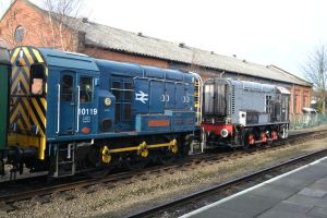 Class 10119 and D3101 by DingRawD