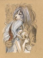Snoozing Selkies by StressedJenny