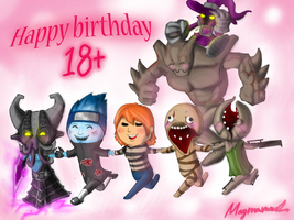 happy birthday by Magmamork