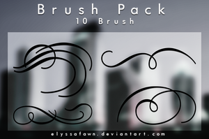 Brush Pack | LINES by elyssafawn