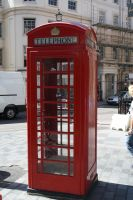 Telephone Box by FreeakStock