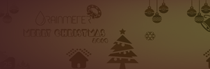 Christmas Rainmeter Facebook Cover Page by RMNSkin