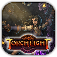 Torchlight Game Icon 2 by Wolfangraul