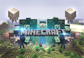 Minecraft wallpaper UPDATED by MikasDA