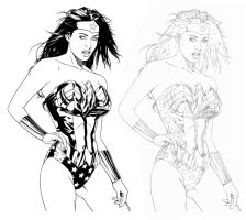 Wonder Woman sketch by jocachi