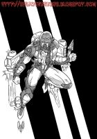 Ace McCloud from The Centurions by violencejack666