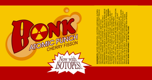 Bonk! Atomic Punch Label with Tumbler Warning(RED) by TheCrimsonLoomis