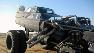 Mad Max 4 Fury Road 1959 Cadillac Gigahorse 4 by MALTIAN