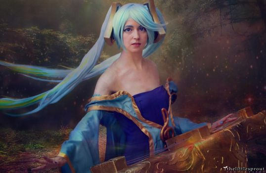 Sona | League Of Legends by thelittlesprout
