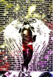 Graffiti Angel Revisitation by Sir-Real