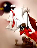 The Saint and the Sinner by Shewen