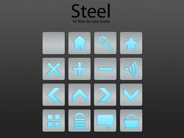 Steel - Icon Pack by PerpetualStudios